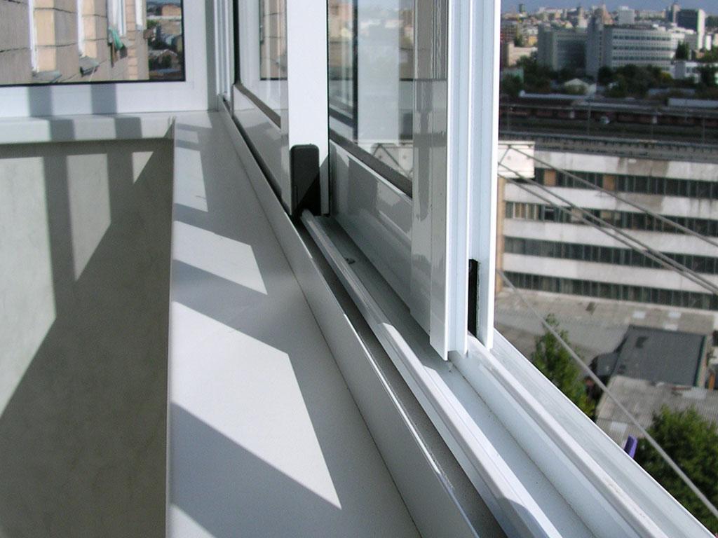 Алюминиевое остекление балконов блог компании Яркие окна.